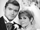 Pete Duel Judy Carne Love on a Rooftop